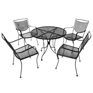 Set mobilier terasa din fier forjat ROMANCE